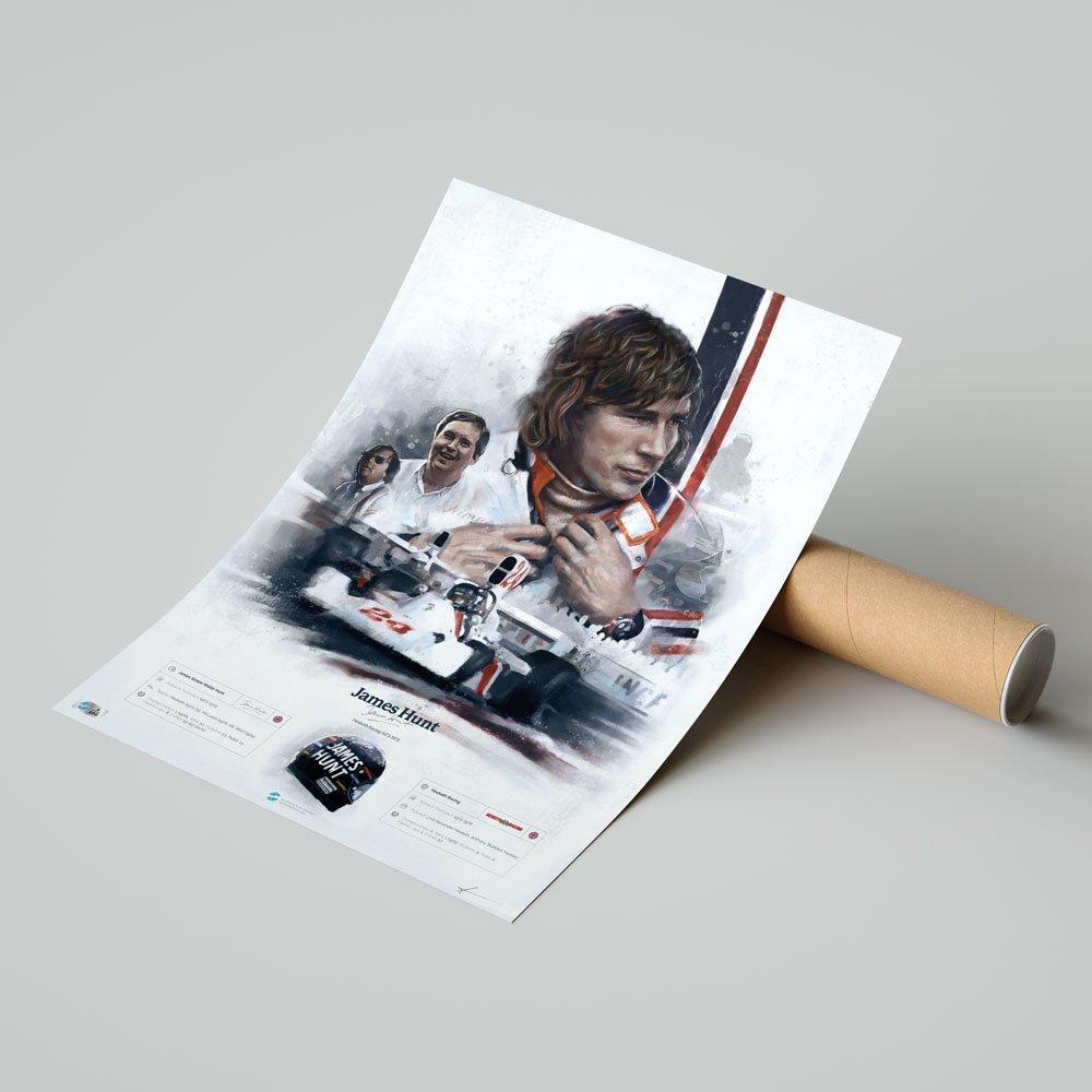 motorsports poster nd tube
