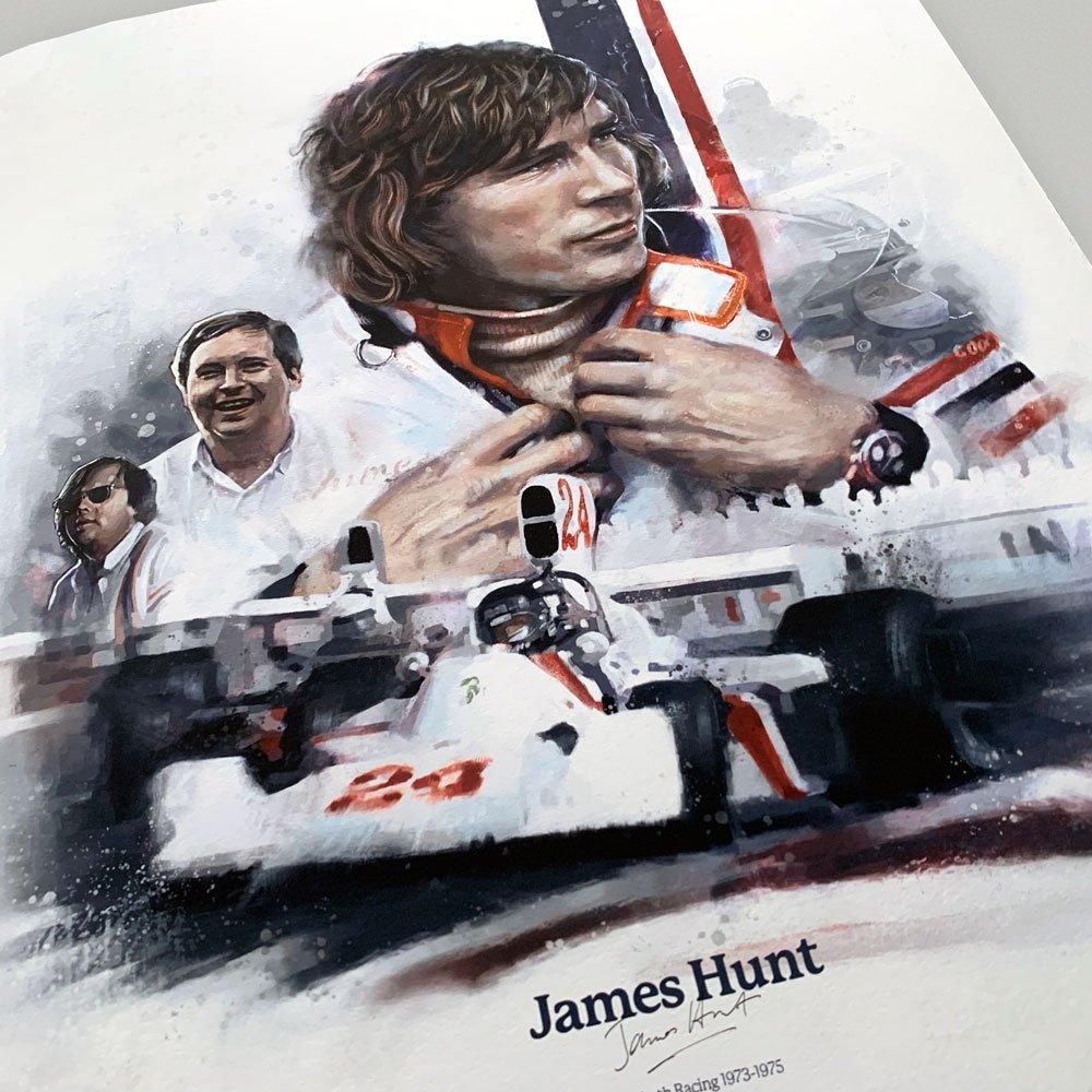Image of motorsports painting Formula 1 Wall Art F1 Poster