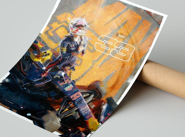 Max Verstappen Wall Art