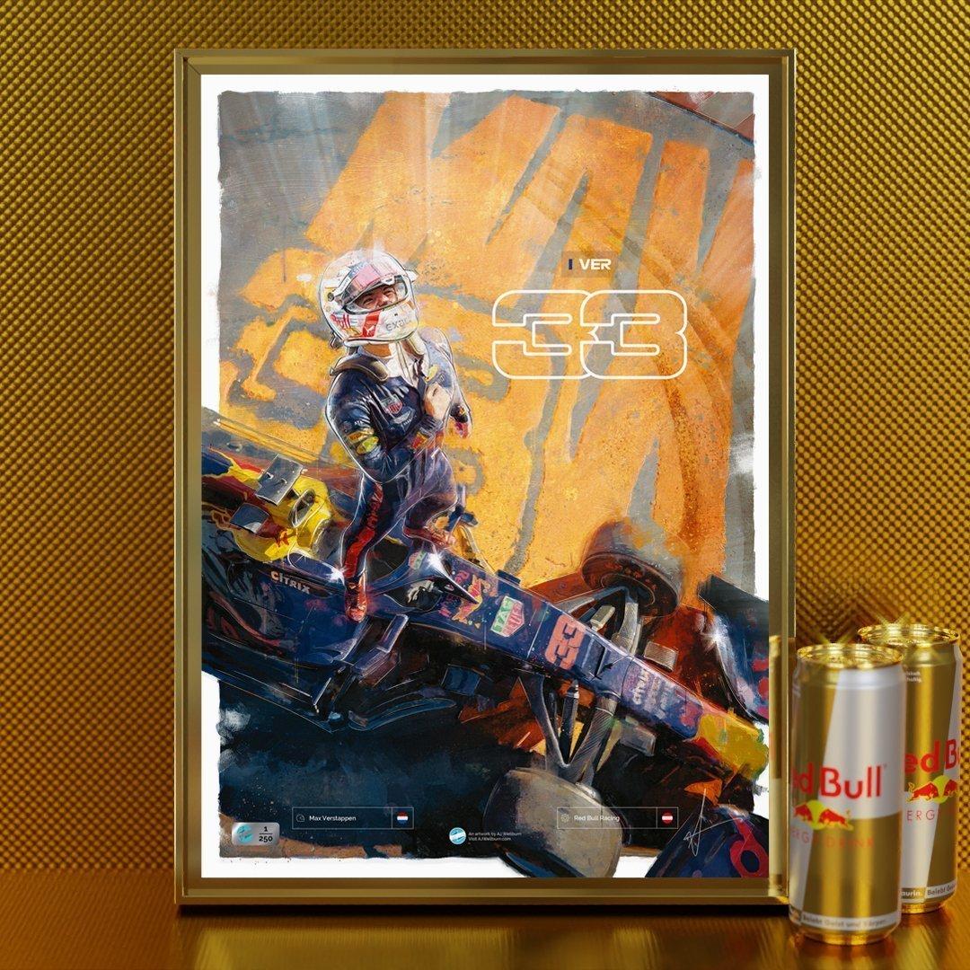 Rare Gold Max Verstappen