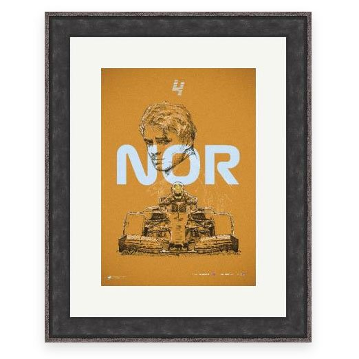 Image of F1 driver George Russell Wall Art
